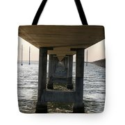 Under Seven Mile Bridge Tote Bag