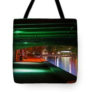 Under The Bridge Tote Bag by Joann Vitali