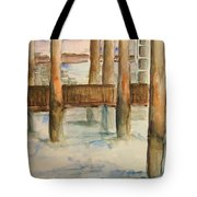 Under The Docks Tote Bag