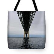 Under The Mackinac Bridge Tote Bag