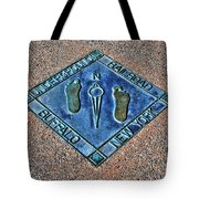Underground Rr Buffalo Ny Landscaped Tote Bag