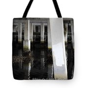 Underpass The Reflections  Tote Bag
