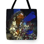 Underwater Bouquet Formed By Cluster Tote Bag