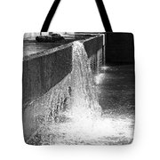 Uneven Flow Tote Bag