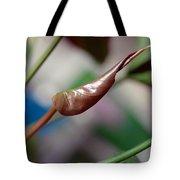 Unfolding Leaf Tote Bag