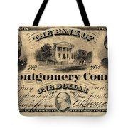 Union Banknote, 1865 Tote Bag
