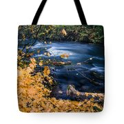 Union Creek In Autumn Tote Bag
