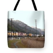 Union Pacific Locomotive Trains . 7d10558 Tote Bag