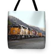 Union Pacific Locomotive Trains . 7d10561 Tote Bag