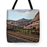 Union Pacific Tracks Tote Bag