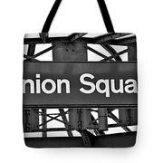 Union Square  Tote Bag