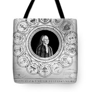 United States, 1787 Tote Bag