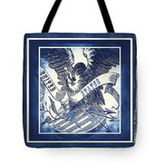 United States Blue Tote Bag