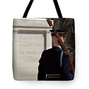 Unknown Soldier Tote Bag