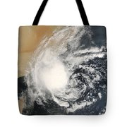 Unnamed Tropical Cyclone Approaching Tote Bag