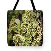 Unripened Inkberries Tote Bag