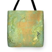 Untitled Abstract - Caramel Teal Tote Bag