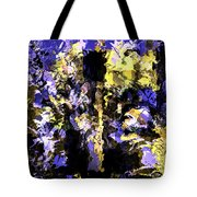 Untitled Blue Tote Bag