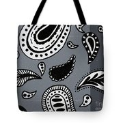 Untitled Paisley 2 Of 3 Tote Bag