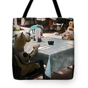 Unusual Diners Tote Bag