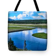 Up A Lazy River Tote Bag