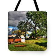 Up All Night Into The Morning Still     I Wait Tote Bag