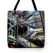 Up And Down Reflections 2 Tote Bag