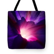 Up Close And Purple Tote Bag