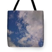 Up In The Clouds 3 Tote Bag