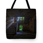 Up Into The Light Tote Bag by Nathan Wright