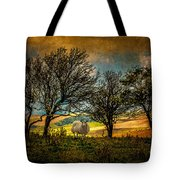 Up On The Sussex Downs In Autumn Tote Bag
