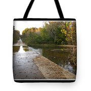Up The Hill To Home Tote Bag