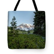 Upon A Hill Of Flowers Tote Bag