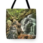 Upper Cascade Hidden Falls Tote Bag
