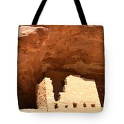 Upper Cliff Dwelling Tote Bag