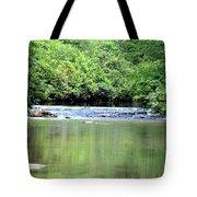 Upper Creek Reflections Tote Bag