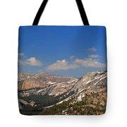 Upper Yosemite Panorama Tote Bag