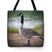 Upright Stance Tote Bag