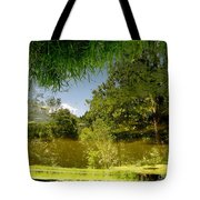 Upside Down And Backwards Tote Bag