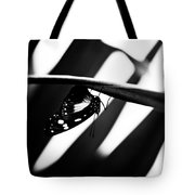 Upside Down Butterfly Tote Bag