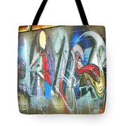 Urban Alley Tote Bag