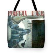 Urban Art - Cabin Fever By Nino Tote Bag