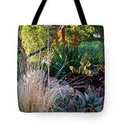 Urban Garden With Cactus Tote Bag