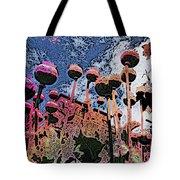 Urban Poppy Tote Bag