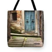 Urbino Door And Stairs Tote Bag