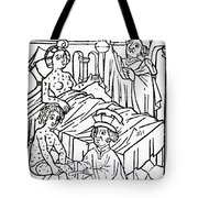Urine Analysis, Patients With Syphilis Tote Bag
