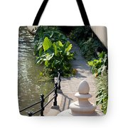 Urn And Pathway Tote Bag