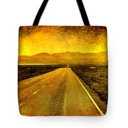 Us 50 - The Loneliest Road In America Tote Bag