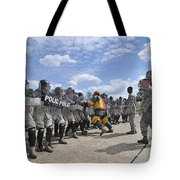 U.s. Air Force 86th Security Forces Tote Bag by Stocktrek Images