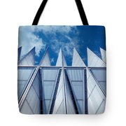 Us Air Force Academy Chapel Tote Bag
